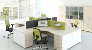 Bureau de travail opératif ergonomique - Individuel ou open space