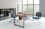 Bureau de travail simple et classique - Gamme de bureaux et de tables modulables