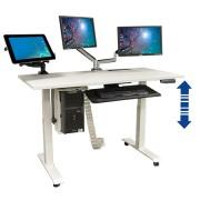 Bureau électrique réglable en hauteur - Bureau électrique réglable en hauteur (  flexibilité assis-debout )