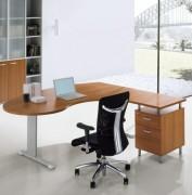 Bureau ergonomique avec retour moderne - Garantie : 3 ans