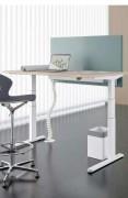Bureau ergonomique réglable par commande électrique - Garantie : 5 ans
