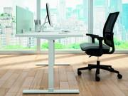 Bureau individuel - Dimensions du plateau disponibles (L x P) : de 100x80 à 180x80 cm