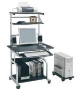 Bureau informatique pour angle - Hauteur: 1580 mm