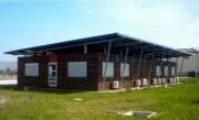 Bureau modulaire préfabriqué - Surface : 185 m²