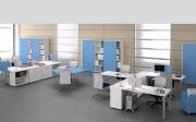 Bureau professionnel modulaire - Gamme variée de meubles de bureau