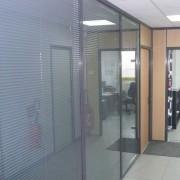 Bureau vitré - Vitrage parfaitement modulable