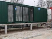 Bureaux et vestiaires de chantier - Isolation thermique  - Respect des plans architecte