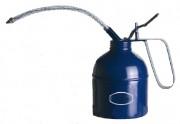 Burette huile métallique