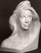 Buste marianne Hauteur 50 cm