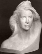 Buste marianne Hauteur 50 cm - Catherine deneuve