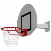 But de basket mural fixe - Structure acier - Déport : 0,6m