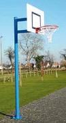 But de basket sur pied - Extérieur à sceller - Déport : 0,60 ou 1,20 m