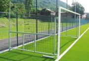 But de foot 7 joueurs rabattable - 6m L x 2.1m Ht - Conforme aux normes EN 748