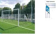 But de foot à 11 - Conforme Norme EN748 et décret 04/06/96-Métalliques Ø102mm-Démontables