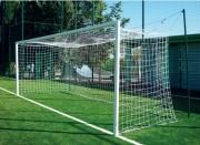 But de foot à 8 joueurs - Conformes FFF - Acier ou Aluminium -Dim: 6 x 2,10 m