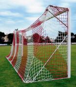 But de football à 11 transportable - Matière : aluminium anodisé 120 x 100 mm - Dimensions : 7,32 x 2,44 m - Poids : 70 kg
