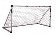 But de football pour enfants - Dimensions (L x H x P) cm : 244 x 130 x 110
