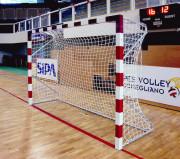 But de handball à sceller - Dimensions : 3 x 2 m - structure en acier ou aluminium -  A sceller
