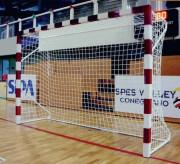 But de handball pliable - Structure acier ou aluminium de 80 x 80 mm - Dimensions : 3 x 2 m - Pliable
