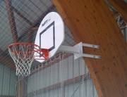 But mini basket pour mur - Conforme EN 1270-déport 0m60 ht fixe 2m60 ou 3m05 spécifique