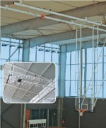 But mini basket relevable en charpente - Hauteur fixe 2m60 ou 3m05