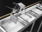 Butée de mesure - Manuelle ou automatique pour tables à rouleaux lourdes jusqu'à 5000 kg