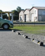 Butée de parking caoutchouc Longueur 1000 mm - Longueur (mm) : 1000