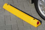 Butée de parking en plastique - Hauteur (mm) : 90 - Longueur : 45 cm