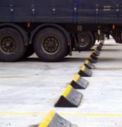 Butée de parking pour camion - Solution pour stopper les véhicules