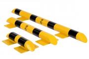 Butée de sécurité avec platine - Longueur (mm) : 400 - 800 - 1200 / Certifié TÜV