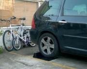 Butée de sécurité parking - Dimensions : L 510 x l 400 x H 120 mm