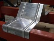 Butée podium nervurée - Pour rayonnage entretoise : de 200 à 350 mm