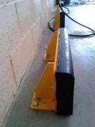 Butoir de protection murale - 2 Longueurs disponibles : 600 mm ou 1200 mm
