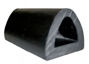 Butoir de quai caoutchouc - Dimension extérieur (mm) : de  250 x 90 x 500 à 300 x 100 x 600