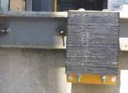 Butoir de quai fixe en caoutchouc - Dimensions (a x b x c) : 370 x 250 x 80 mm