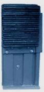Butoir mobile de quai - Dimensions (LxHxE) : 300x600x120 mm