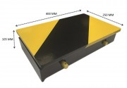 Butoir quai chargement fixe - Capacité d'écrasement de plus de 15 mm