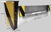 Butoir quai chargement mobile - Le seul butoir de quai mobile à intégrer un système de mobilité protégé et sans glissières
