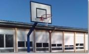 Buts de basket - Panneaux en polyester  -  Robuste et résistant