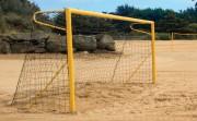 Buts de beach soccer aluminium - Aluminium -Dimensions : 5,50 x 2,20 m