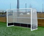 Buts de compétition hockey sur gazon - Dimensions : 3.66 x 2.10 m – profondeur cage 1.20