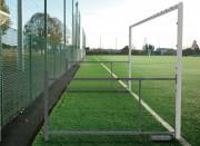 Buts de football repliables 8 joueurs - Dimensions (m) : 6 x 2,1