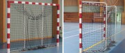 Buts de handball repliables - Dimension de jeu : 3 m x 2 m - Conforme à la norme EN 749