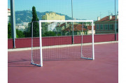 Buts de handball scolaires - Face avant monobloc métallique