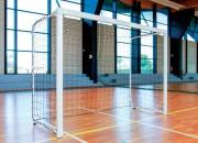 Buts de mini handball - Acier galvanisé plastifié - Dim : 2,40 x 1,70 m