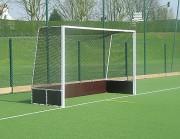 Buts hockey sur gazon - Dimensions but (m) : 3.66 x 2.14 - Modèle compétition