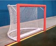 Buts rink hockey compétition - Acier plastifié blanc - Livrés, à la paire