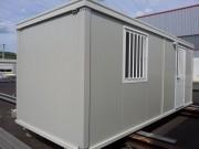 Cabane de chantier - Possibilité d'adaptation sur demande