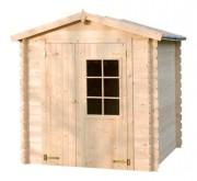 Cabane jardin 3m² - Surface extérieure au sol : 3.92 m²