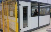 Cabine bureau transportable - Isolation de haute densité.